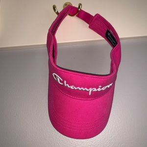 Champion Pink visor